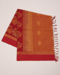 Orange and Papaya Orange Combination Kovai Pure Cotton Saree