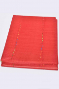Red with Multi Colour Pure Tussar Saree