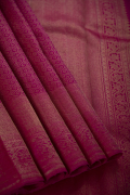 Purple Pink Kanchivaram Pure Silk Saree with Extrodinary Weaving Design