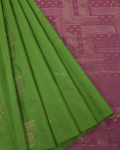 Green Elite Motif Kancheevarams Silk Saree